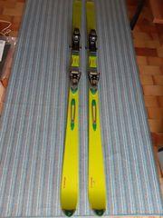 Nordica Ski mit Salomon-Bindung