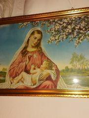 Heiligenbild Mutter Gottes Bilder sehr