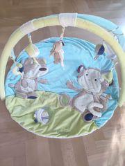 Baby Fehn Spielbogen 3-D-Activity-Decke in