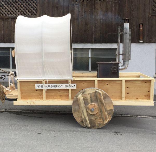 Mittelalter- Zigeunerwagen