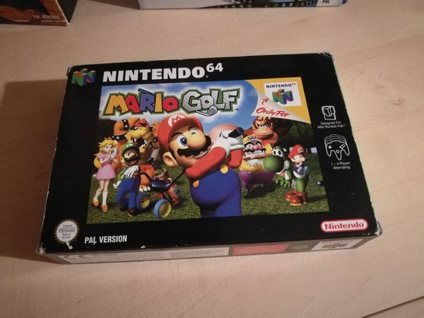 Mario Golf Nintendo 64 guter