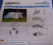 6 Personen Zelt