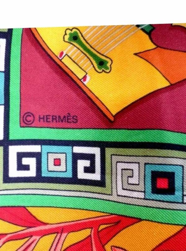 Hermes Angora Seidenschal NP 760