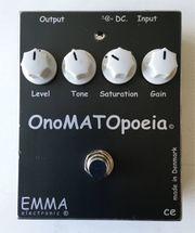 EMMA Onomatopoeia Boutique Overdrive Booster