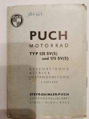 Puch Motorrad Typ 125 SV