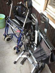 Verkaufe Rollator und Rollstuhl