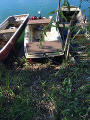 Boot mit e-motor und gel-Batterie