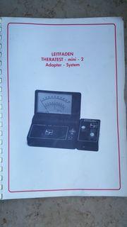 Akupunkturgeräte THERATEST MINI mit Zubehör