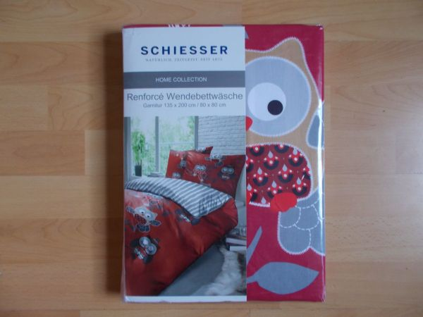 2 Neue Eulen Wende Bettwäsche Sets Schiesser 135 X 200 In Edewecht