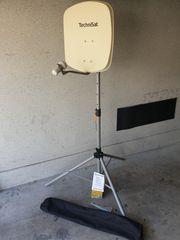Satellitenanlage Technisat Digidish 45 mit