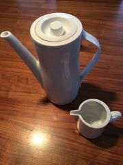 Kaffeekanne Arzberg Loop weiß