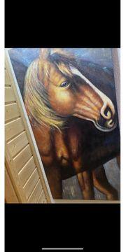 Bild XXL Pferd moderne Kunst
