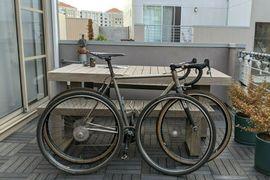 Bild 4 - Custom Titanium Stinner CX Bike - - Neresheim Eichplatte