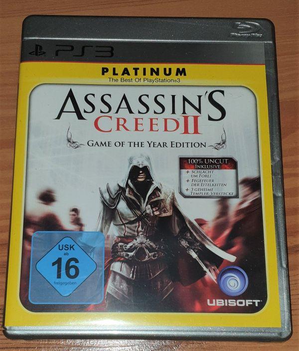 Für PS3 Assassin`s Creed 2 - Platinum
