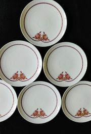 6er Set Teller 15cm Rosenthal