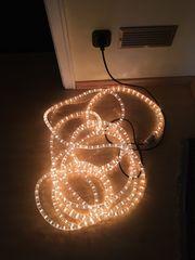 Lichtschlauch 10 m LED warmweiss
