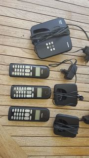 Biete Siemens Gigaset AS300A Triotelefone