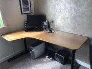 Schreibtisch Bekant 160 x 110