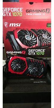 MSI Nvidia GeForce GTX1070 8GB
