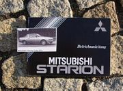 Betriebsanleitung Mitsubishi Starion Turbo I