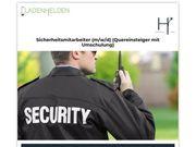 Fortbildung zum Sicherheitsmitarbeiter m w