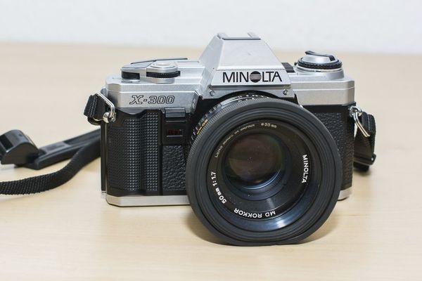 MINOLTA Spiegelreflexkamera