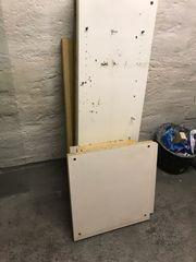 IKEA Schrank Teile Holzstücke zu