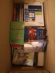 Büchersammlung in sehr gutem Zustand
