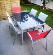 Gartentisch 6 Stühle