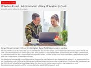 IT System Expert - Administration Miltary