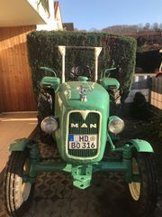 Traktor MAN 26 PS Baujahr