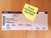 Ticket Martin Frank in Riedenburg