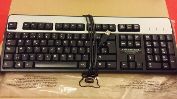 Tastatur der Marke HP mit