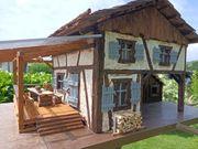 Vogel Fachwerkhaus