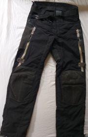 Gut erhaltene Herren-Motorrad-Hose schwarz Gr