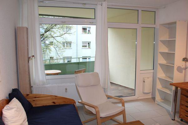 Möbliertes 1-Zimmer-Apartment Heidelberg-Rohrbach