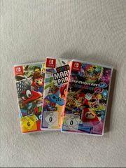 Nintendo switch mit 3 Spiele