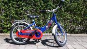 PUKY Kinder-Fahrrad 16 Zoll Alurahmen blau