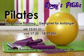 Schulungen, Kurse, gewerblich - Pilates Live Online - 1er 5er