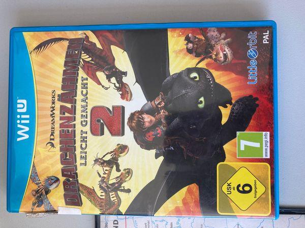 Wii U Spiel Drachenzähmen 2