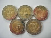 5 mal 2 Euro Elysée-Vertrag