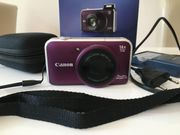 Neuwertige Canon PowerShot SX220 HS