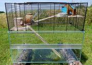 Nagerkäfig Hamsterstall Erstausstatter Set Serengeti