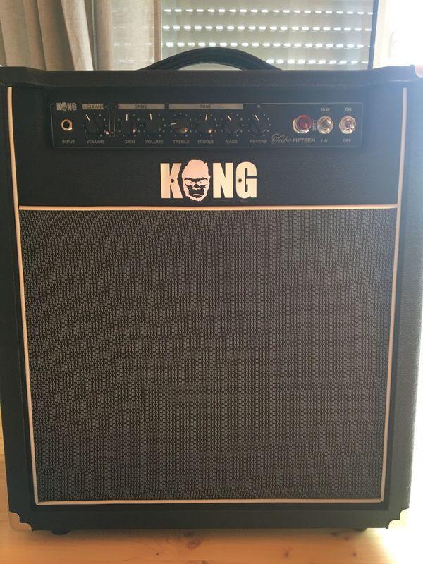 Gitarren-Röhrenverstärker Kong TubeFifteen