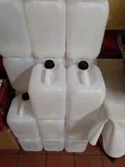 5 10 und 25-Liter Kanister