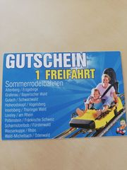 Gutschein Sommerrodelbahn