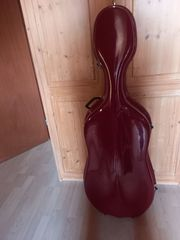 Cello-Koffer 1 1 rot