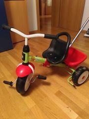 Kettler Dreirad mit Anschubstange und