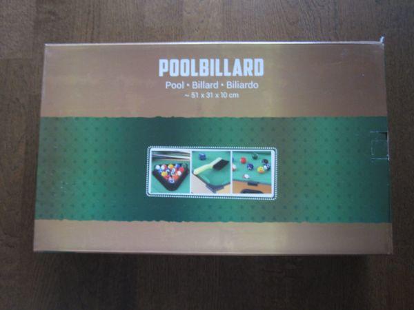 Poolbillard Tischspiel