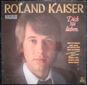 LP- Roland Kaiser - Dich zu